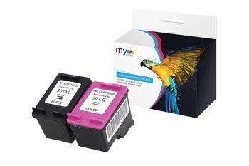 HP 301XL BK+CMY MyOffice (zestaw)