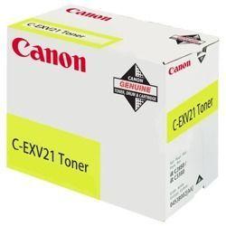 Toner oryginalny Canon C-EXV21Y