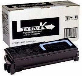 Toner oryginalny Kyocera TK-570K
