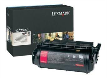 Toner oryginalny Lexmark 12A7365