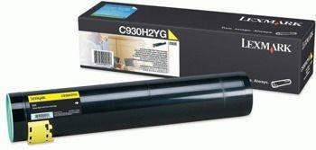 Toner oryginalny Lexmark C930H2YG