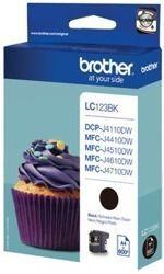 Tusz oryginalny Brother LC123BK