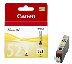 Tusz oryginalny Canon CLI-521Y