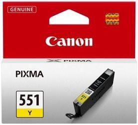 Tusz oryginalny Canon CLI-551Y