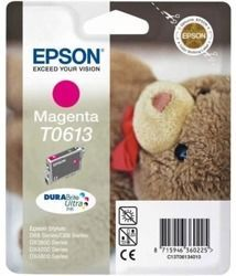 Tusz oryginalny Epson T0613 M