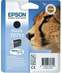 Tusz oryginalny Epson T0711 BK