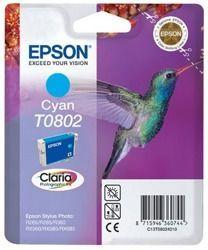 Tusz oryginalny Epson T0802 C
