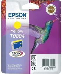 Tusz oryginalny Epson T0804 Y