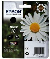 Tusz oryginalny Epson T1801 BK