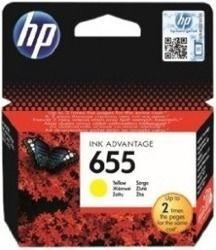 Tusz oryginalny HP 655 Y (CZ112AE)