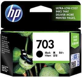 Tusz oryginalny HP 703 BK (CD887AE)