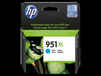 Tusz oryginalny HP 951XL C (CN046AE)