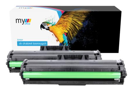 2 x Toner Samsung MLT-D101S zamiennik My Office (dwupak)