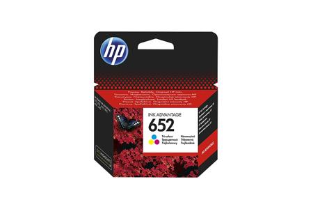Tusz oryginalny HP 652 C (F6V25AE)